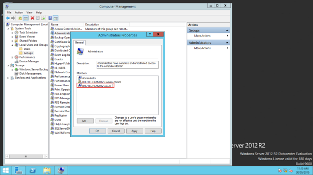 Lab Build – System Center Configuration Manager Technical Preview