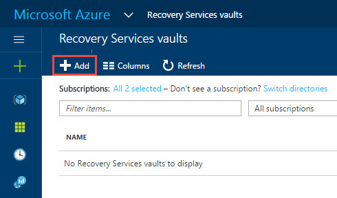 Migrating a VMware VM to Azure using Azure Site Recovery