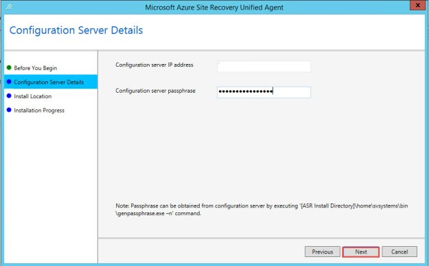 Migrating a VMware VM to Azure using Azure Site Recovery | ConfigMgr