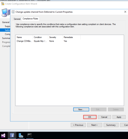 Changing Office 365 ProPlus Update Channel with ConfigMgr