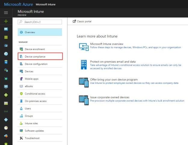 Intune – Require Device Encryption (BitLocker) on Windows 10 1703