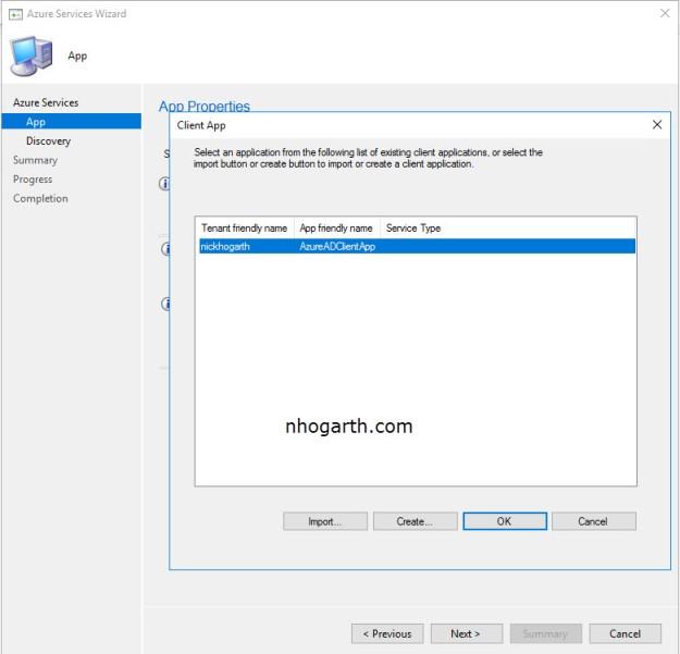SCCM TP 1802 – Cloud Management Gateway Azure Resource