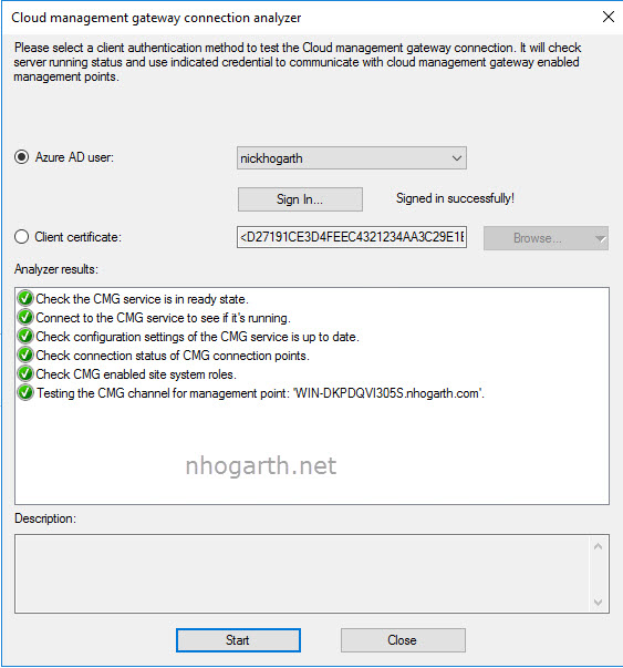 SCCM TP 1805 – CMG Connection Analyzer | ConfigMgr & Intune blog