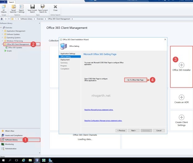 SCCM TP 1806 – Office Customization Tool integration