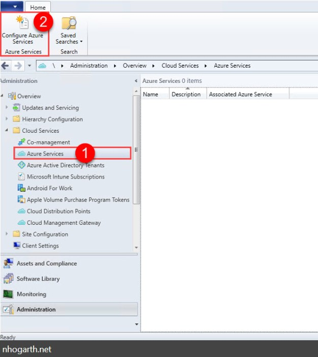 SCCM Current Branch – Import Azure Services existing Web Apps to use same Azure subscription for CMG in different SCCM environments