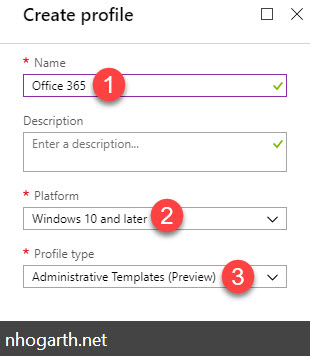Customizing Windows 10 – Office 365 using Intune Administrative