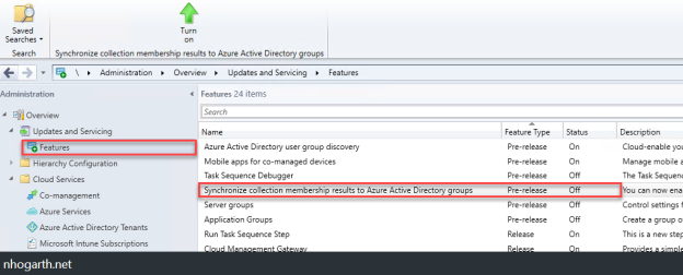 Sync SCCM CB 1906 Collection membership to Azure AD groups